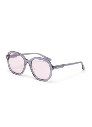 Main View - Click To Enlarge - STEPHANE + CHRISTIAN - Acetate D frame sunglasses