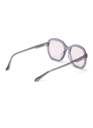 Figure View - Click To Enlarge - STEPHANE + CHRISTIAN - Acetate D frame sunglasses