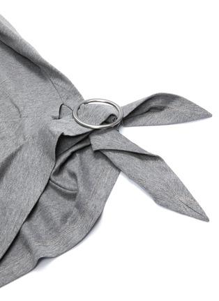 - 3.1 PHILLIP LIM - Gathered ring T-shirt
