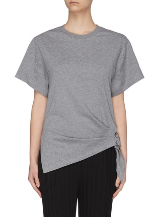 Main View - Click To Enlarge - 3.1 PHILLIP LIM - Gathered ring T-shirt