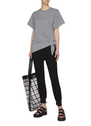 Figure View - Click To Enlarge - 3.1 PHILLIP LIM - Gathered ring T-shirt