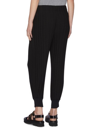 Back View - Click To Enlarge - 3.1 PHILLIP LIM - Plissé pleated ribbed cuff jogging pants