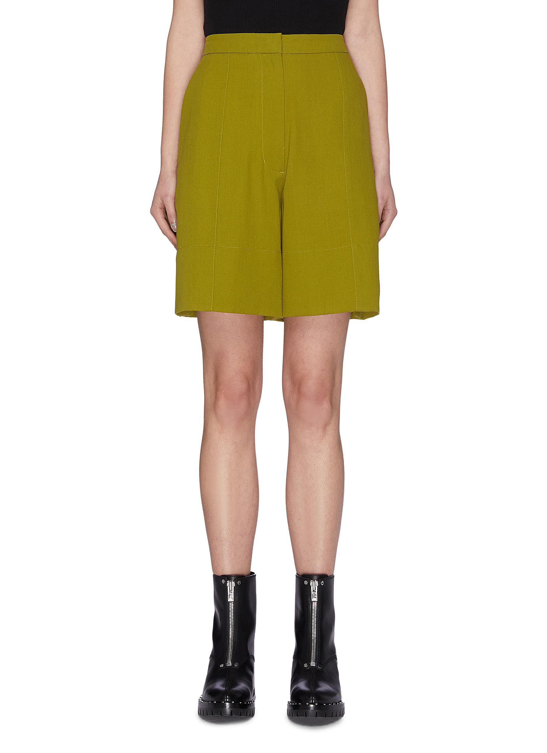 shop 3.1 Phillip Lim Crepe wool tailored shorts online