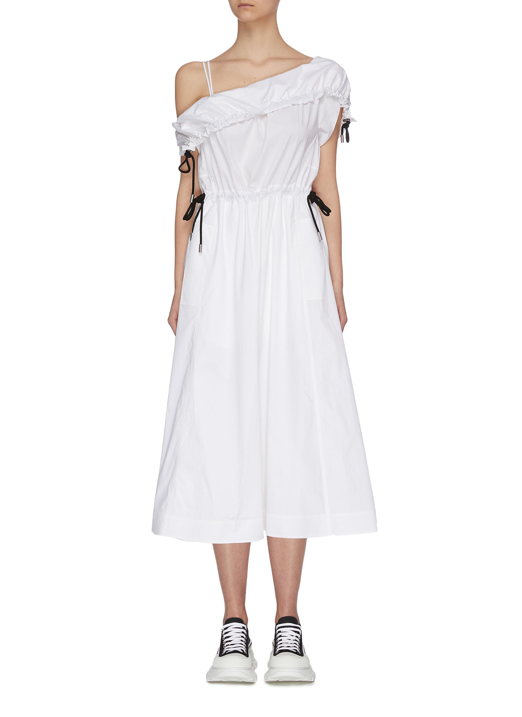 One shoulder parachute utility flared midi dress - 3.1 PHILLIP LIM - Modalova