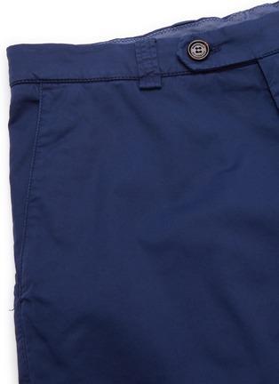 - BRUNELLO CUCINELLI - Stretch cotton blend chino shorts
