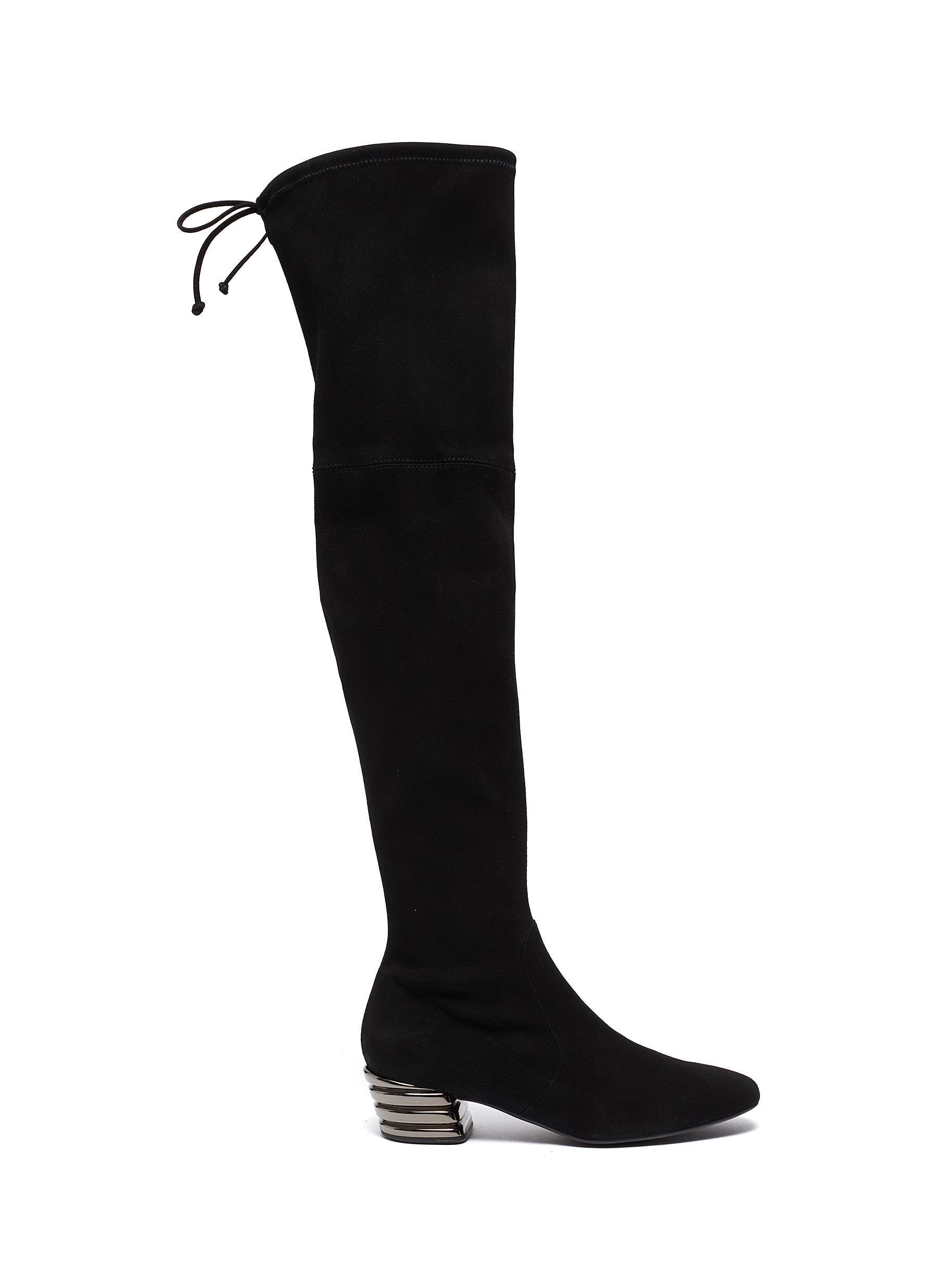 shop Stuart Weitzman 'Vidalia' stretch suede thigh high boots online