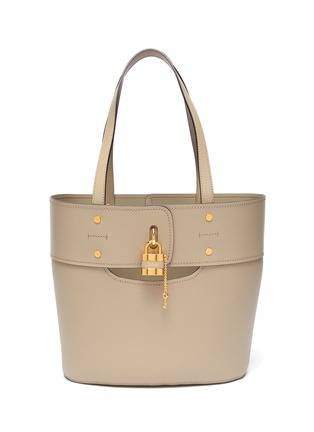 Main View - Click To Enlarge - CHLOÉ - 'Aby' small lock tote bag