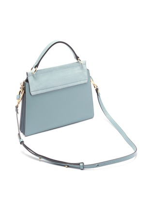 Detail View - Click To Enlarge - CHLOÉ - 'Faye' small shoulder bag