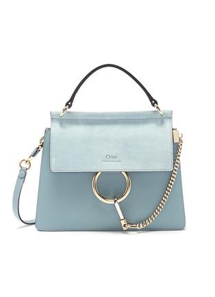 Main View - Click To Enlarge - CHLOÉ - 'Faye' small shoulder bag