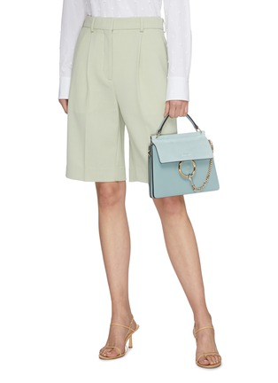 Figure View - Click To Enlarge - CHLOÉ - 'Faye' small shoulder bag