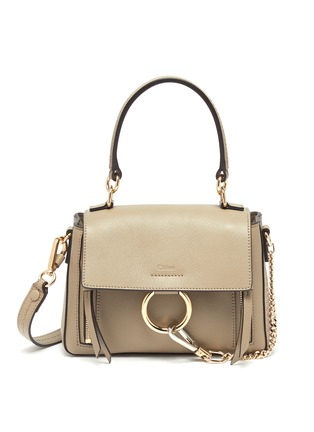 Main View - Click To Enlarge - CHLOÉ - 'Faye Day' mini leather shoulder bag