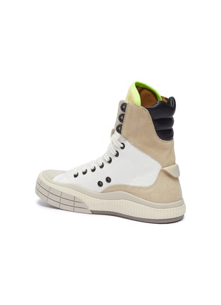 - CHLOÉ - Clint' contrast tongue high top sneakers