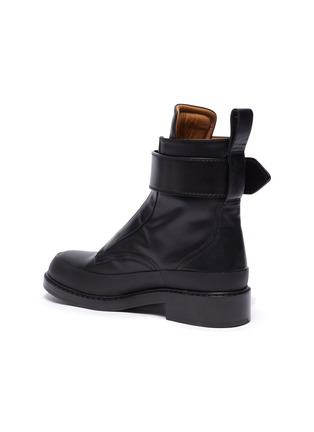 - CHLOÉ - 'Roy' buckle platform leather boots