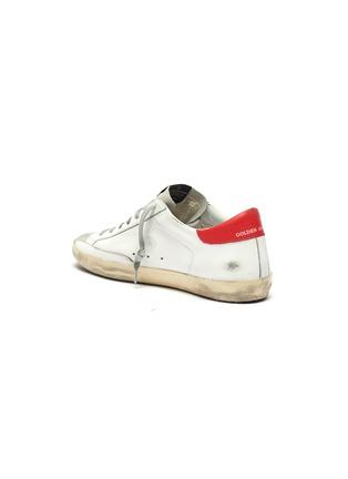 - GOLDEN GOOSE - 'Superstar' contrast tab leather sneakers
