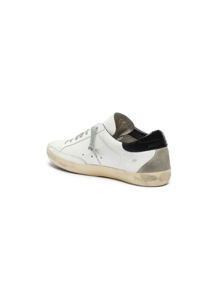 - GOLDEN GOOSE - 'Superstar' contrast tab leather sneakers