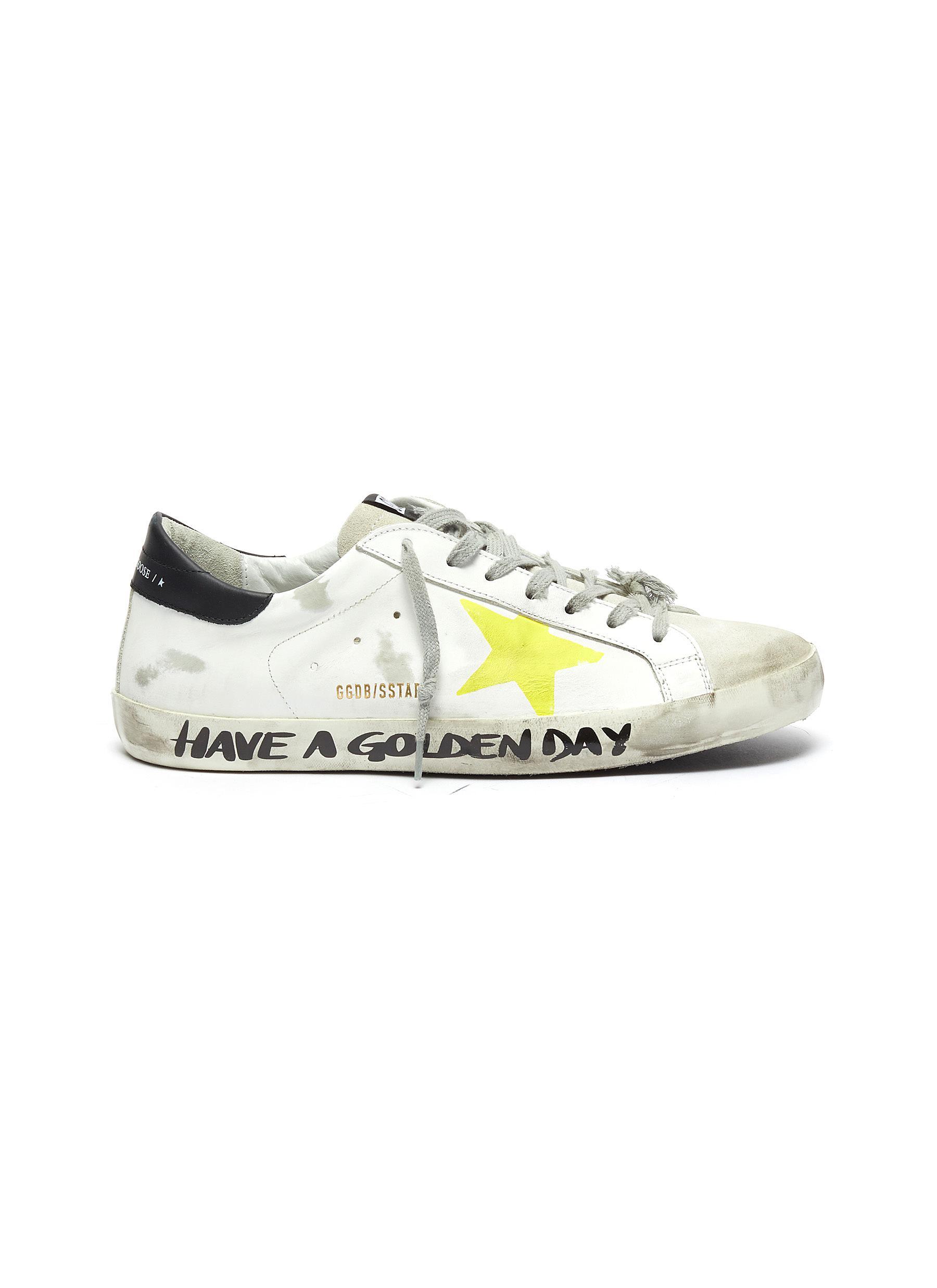 golden goose superstar