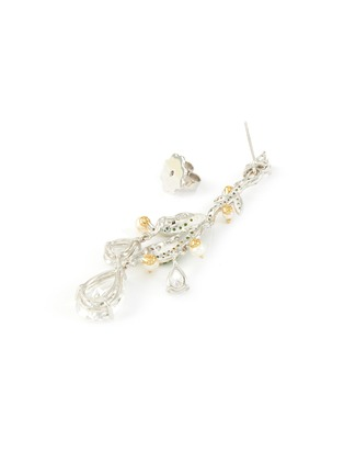 Detail View - Click To Enlarge - ANABELA CHAN - 'Lily of the valley' diamond earrings