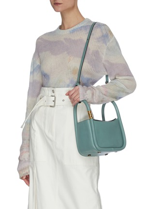 Front View - Click To Enlarge - BOYY - 'Wonton 20' Small Top Handle Bag