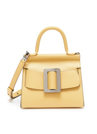 Main View - Click To Enlarge - BOYY - 'Karl 24' Small Buckled Leather Satchel