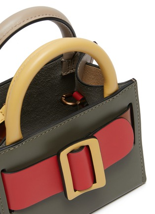 Detail View - Click To Enlarge - BOYY - 'Bobby' Mini Buckled Leather Satchel
