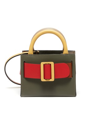 Main View - Click To Enlarge - BOYY - 'Bobby' Mini Buckled Leather Satchel