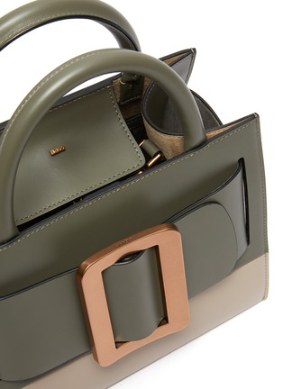 Detail View - Click To Enlarge - BOYY - 'Bobby 23' Buckled Leather Satchel