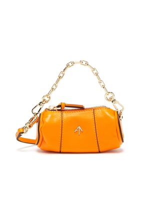Main View - Click To Enlarge - MANU ATELIER - Micro cylinder leather shoulder bag
