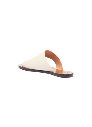 - ATP ATELIER - 'Rosa' toe ring leather slide sandals