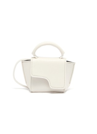 Main View - Click To Enlarge - ATP ATELIER - 'San Gimignano' micro leather crossbody bag
