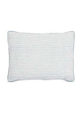 Main View - Click To Enlarge - MALABAR BABY - Block Printed Pillow – Provence Blue