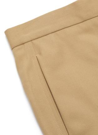 - JIL SANDER - Straight cut crop pants