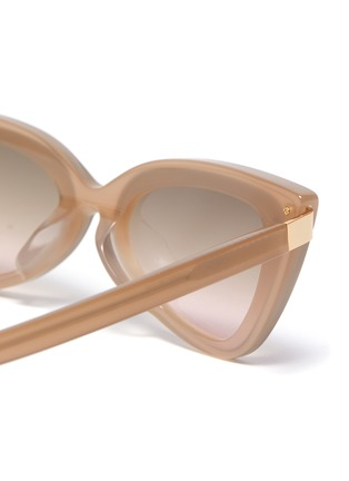 Detail View - Click To Enlarge - FOR ART'S SAKE - 'Mad Mad' Acetate Frame Cateye Sunglasses