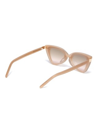 Figure View - Click To Enlarge - FOR ART'S SAKE - 'Mad Mad' Acetate Frame Cateye Sunglasses
