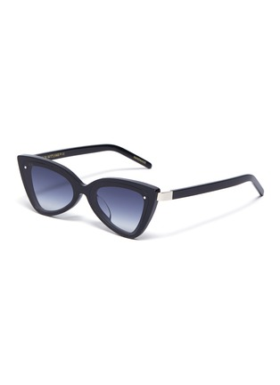 Main View - Click To Enlarge - FOR ART'S SAKE - 'Mad Mad' Acetate Frame Cateye Sunglasses