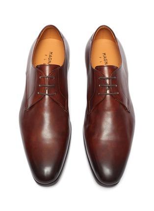 Detail View - Click To Enlarge - MAGNANNI - 'Austin' plain flex derby shoes