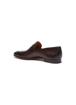 - MAGNANNI - Leather penny loafer