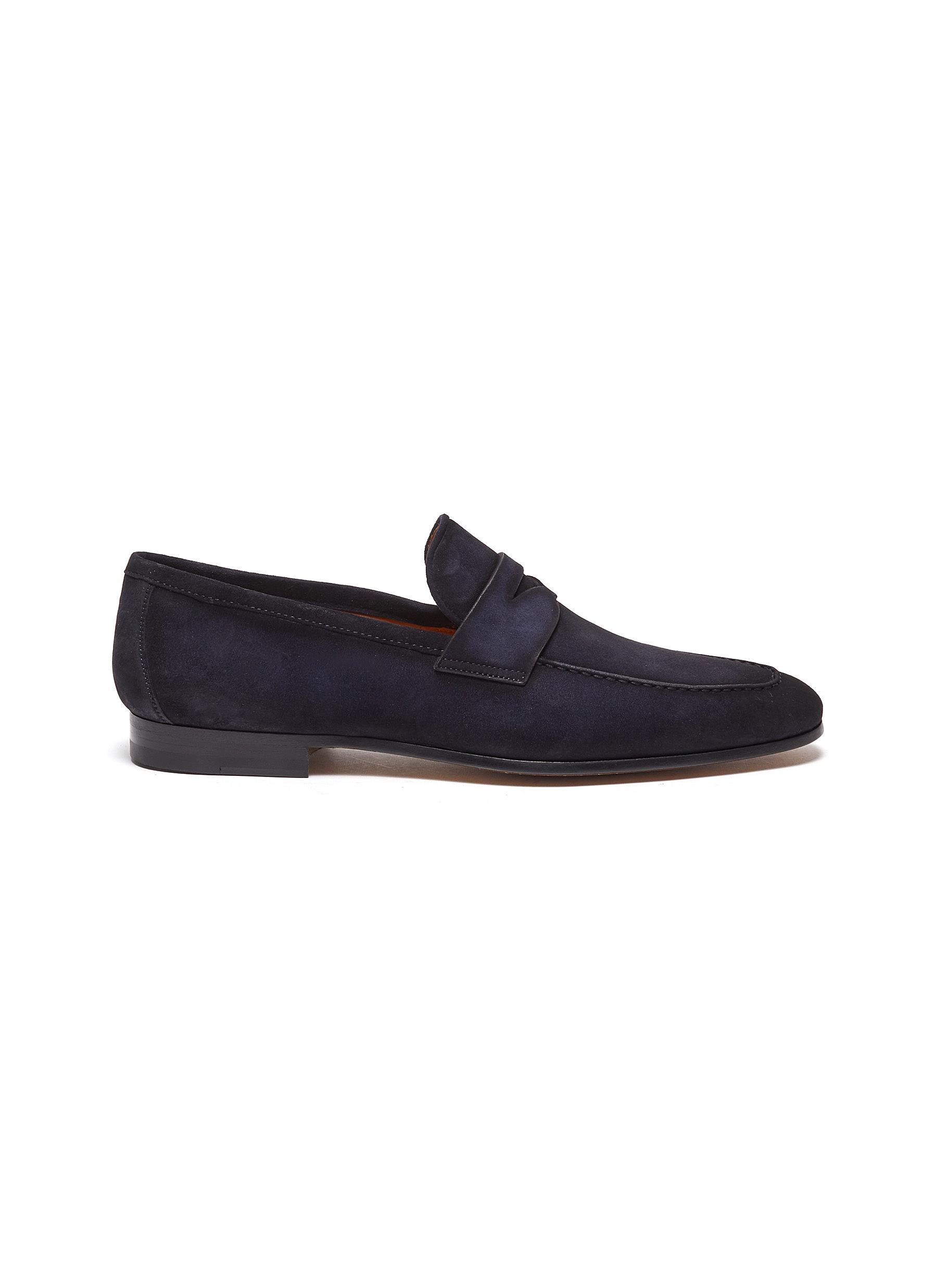 MAGNANNI | Suede penny loafers | Men