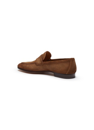 - MAGNANNI - Suede penny loafers