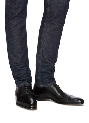 Figure View - Click To Enlarge - MAGNANNI - Six eyelet oxfords