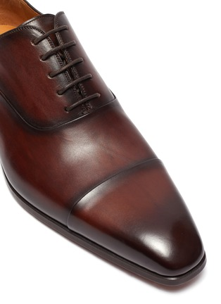 Detail View - Click To Enlarge - MAGNANNI - Six eyelet oxfords