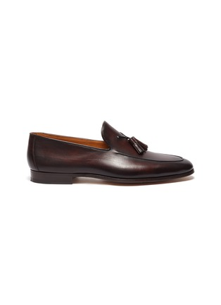 Main View - Click To Enlarge - MAGNANNI - Leather tassel loafers