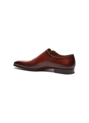 - MAGNANNI - Lace up wholecut leather oxford shoes