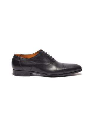 Main View - Click To Enlarge - MAGNANNI - 'Austin' perforated leather oxford shoes