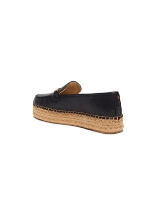 - SAM EDELMAN - 'Corrin' platform leather espadrilles