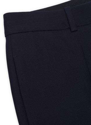 - VICTORIA BECKHAM - Wide leg suiting pants