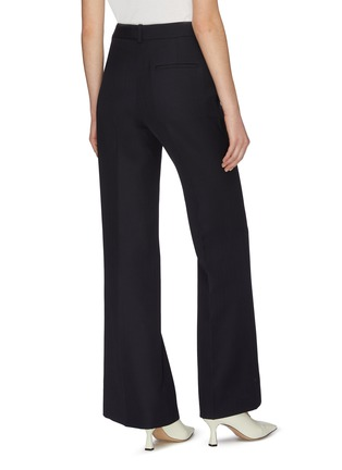 Back View - Click To Enlarge - VICTORIA BECKHAM - Wide leg suiting pants
