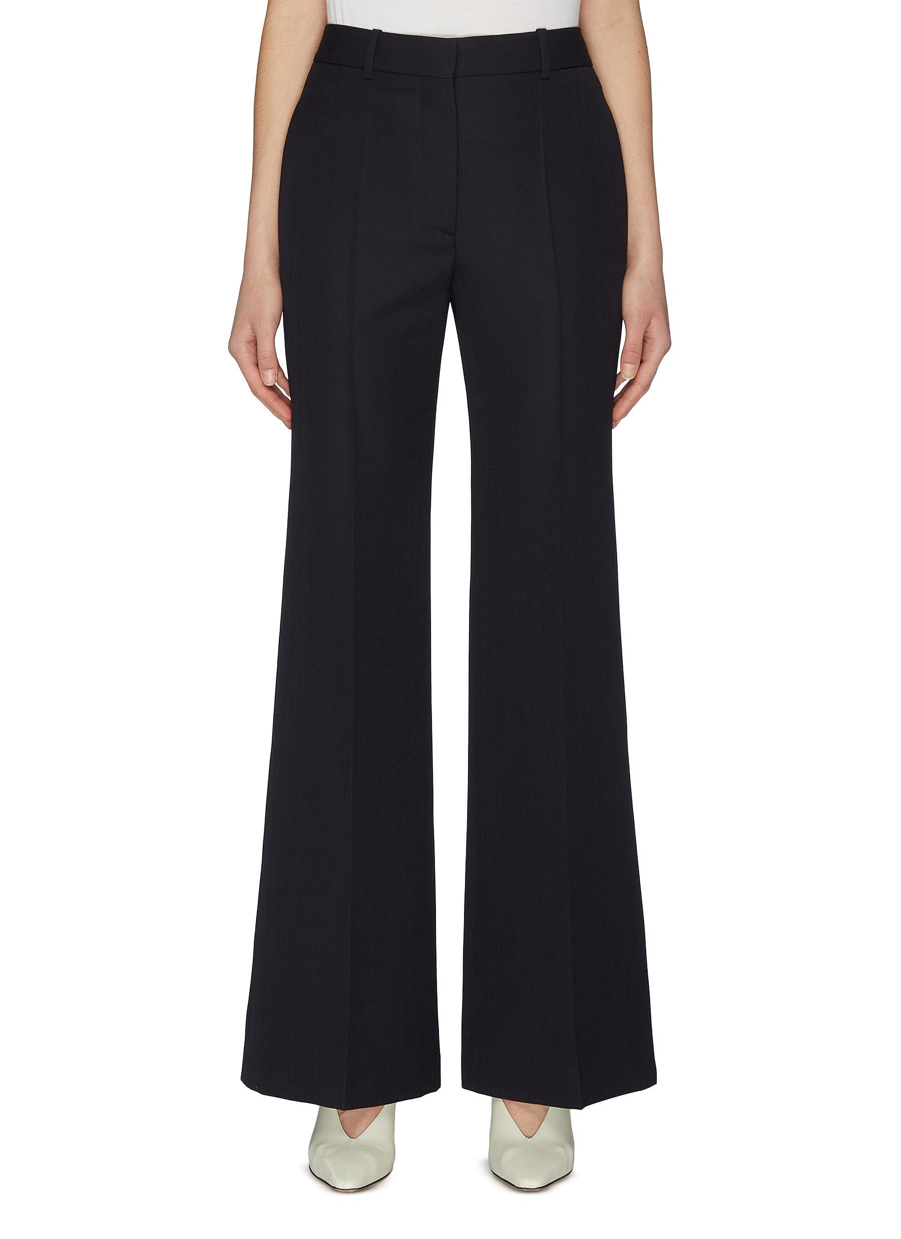 shop Victoria Beckham Wide leg suiting pants online