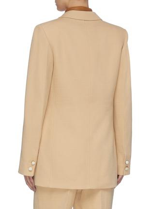 Back View - Click To Enlarge - VICTORIA BECKHAM - Slim Fit Blazer