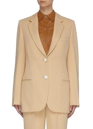 Main View - Click To Enlarge - VICTORIA BECKHAM - Slim Fit Blazer