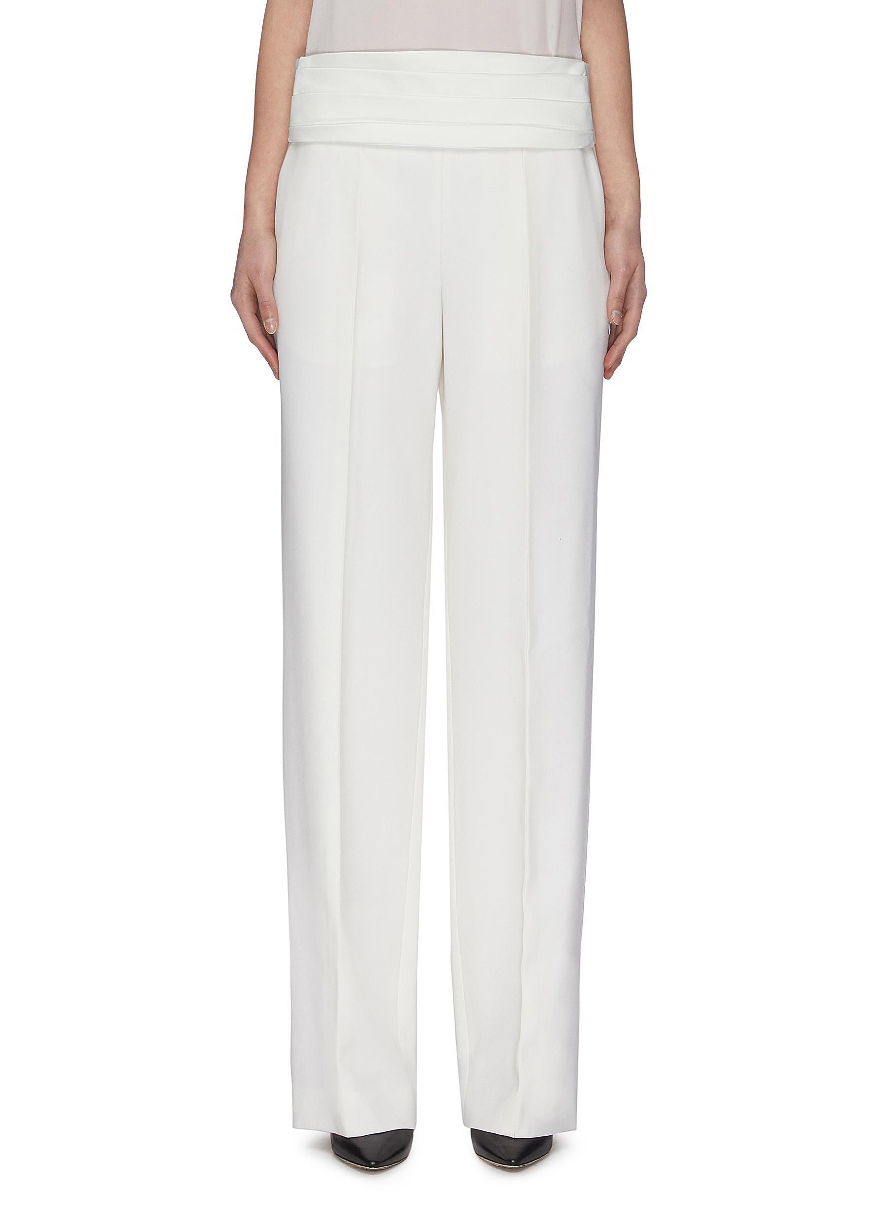 shop Victoria Beckham Cummerbund Tuxedo Pants online